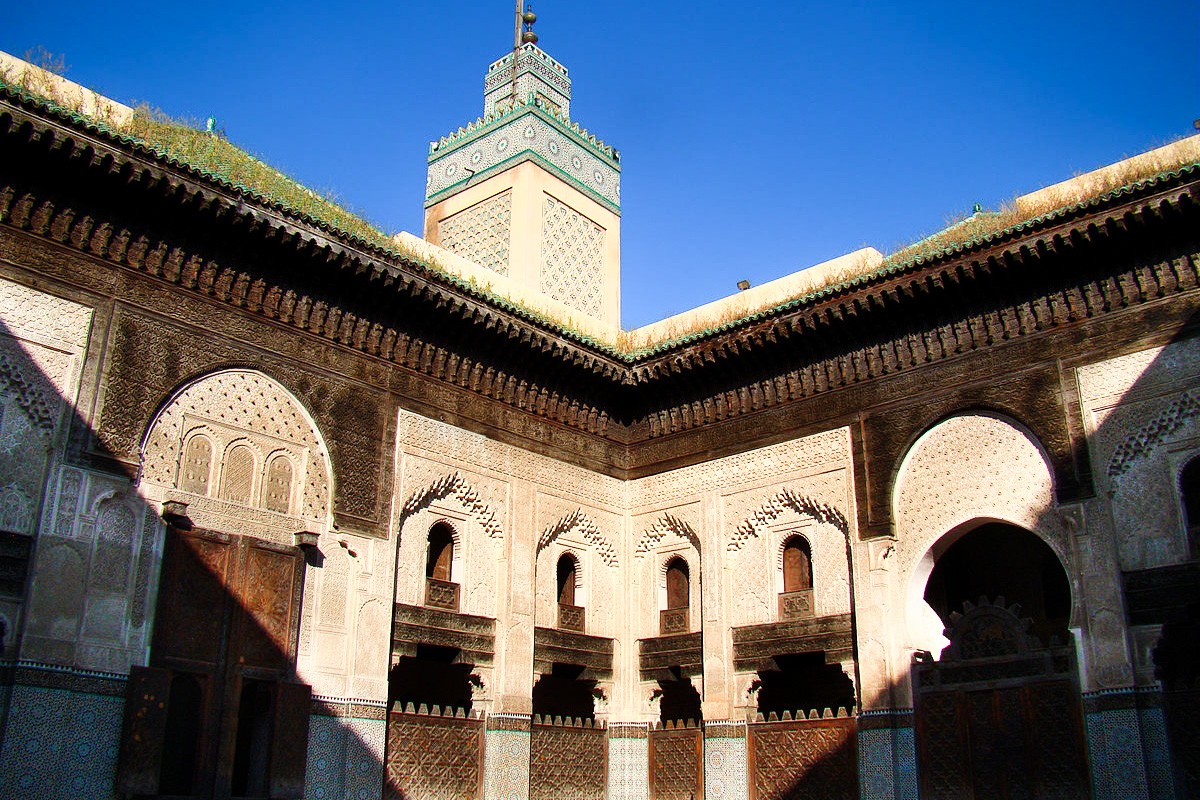 Bou Aanania Medrassain Fez Medina, Morocco