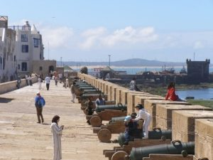 the ramparts and the kasbah of essaouira city