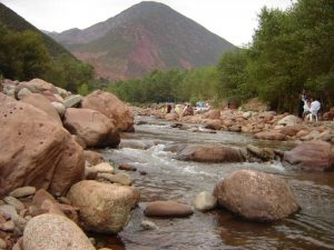 Visit Ourika Valley in Atlas mountains, Morocco
