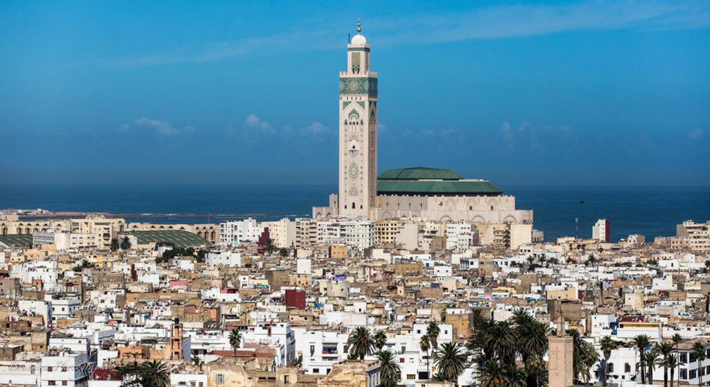 visit hassan II mosque and visit Casablanca old city