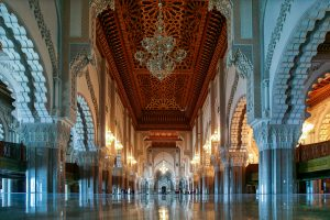 Hassan II mosque of CasablancaMorocco