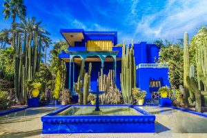 Majorelle garden in Medina of Marrakech, Morocco