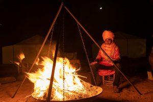 overnight in camp deser morocco