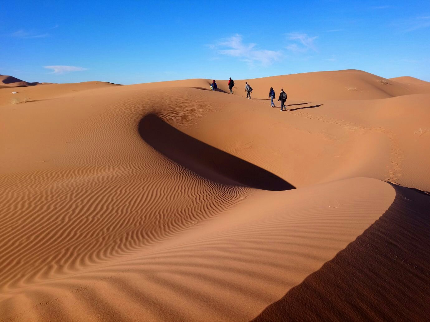 ride with berber nomads over the dunes of erg chebbi merzouga in morocco