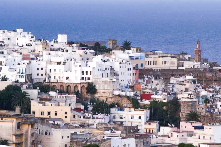 Tangier City in Morocco